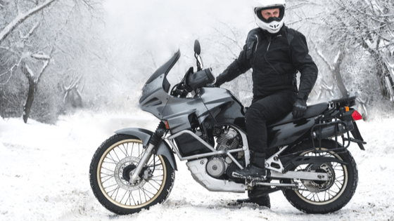 Tips To Help You Safely Ride Your Motorcycle During Winter