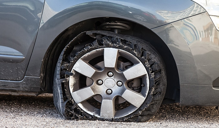 Causes of Accidents: Tire Blowout