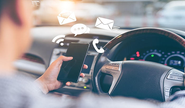 Causes of Accidents: Distracted Driving
